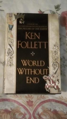 libro mundo sin fin, ken follett (inglés).