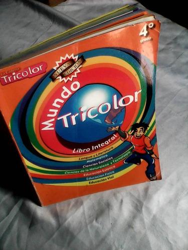 libro mundo tricolor de cuarto grado
