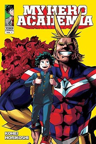 libro my hero academia volume 1 - nuevo