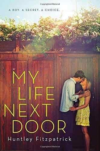 libro my life next door - nuevo
