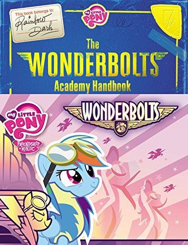 libro my little pony: the wonderbolts academy handbook