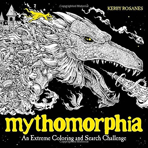 Libro Mythomorphia: An Extreme Coloring And Search Challenge ...