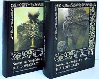 libro narrativa completa vol. i y i i - lovecraft howard
