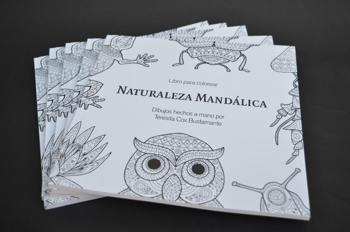 Libro Naturaleza Mandálica / 52 Dibujos Hechos A Mano - $ 11.990 en ...