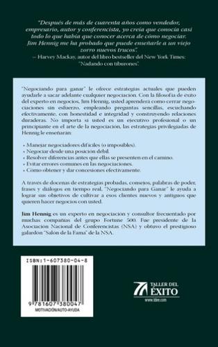 libro, negociando para ganar de jim hennig, ph. d.