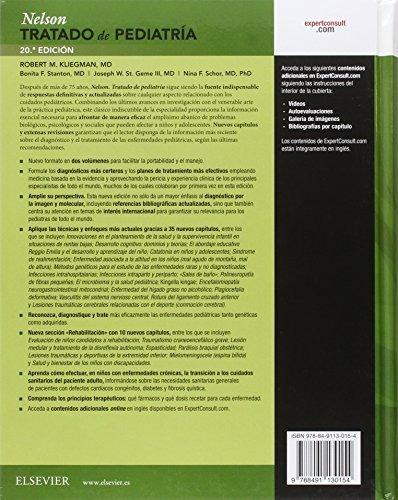libro nelson. tratado de pediatría volumen 1 y volumen 2 (co