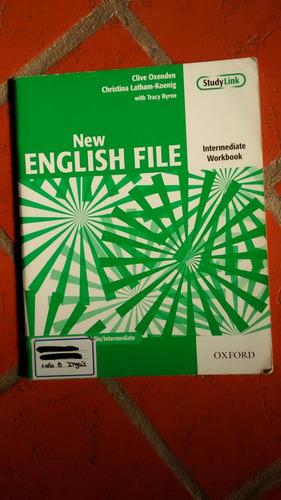libro new english file intermediate workbook