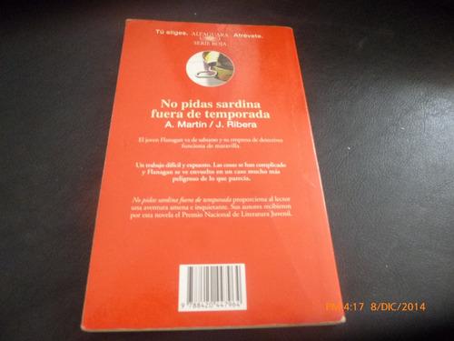 libro  no pidas sardinas fuera de temporada a martin (248
