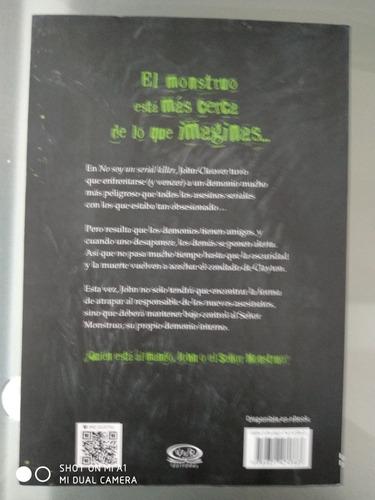 libro no soy el señor monstruo. dan wells