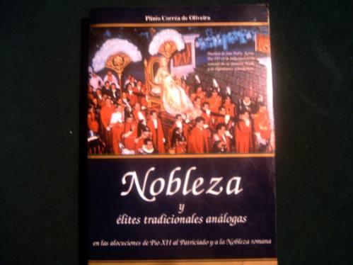 libro  nobleza y élites tradicionales análogas