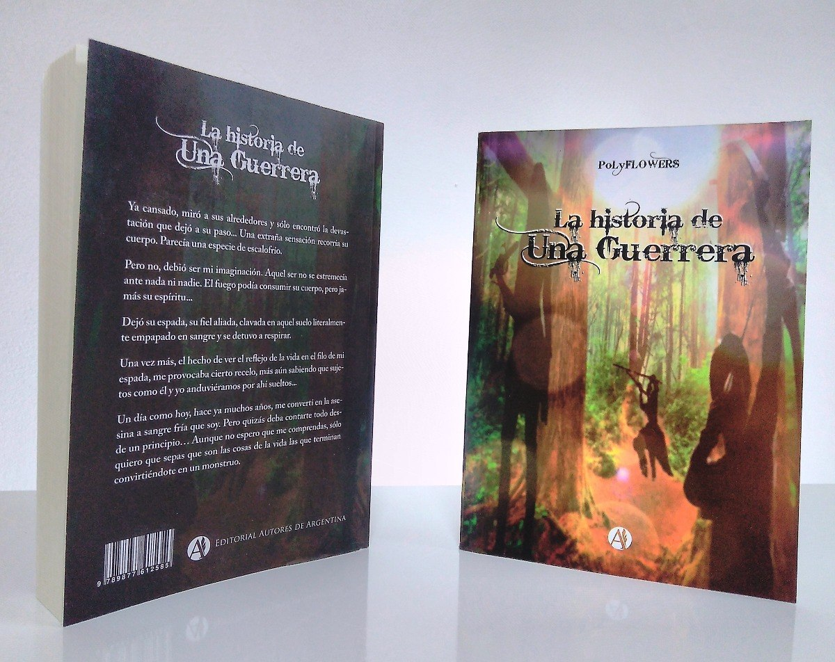 Libro Novela Aventura Historia De Una Guerrera Polyflowers