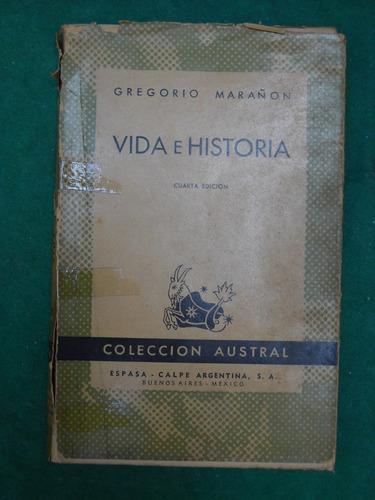 libro novela biografia vida e historia gregorio marañon