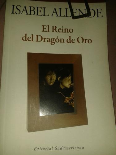 libro novela el reino del dragón de oro isabel allende