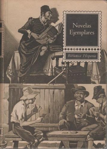 libro, novelas ejemplares de miguel de cervantes hispania.