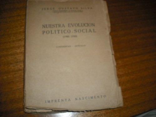 libro nuestra evolucion politico social 1900 -1930
