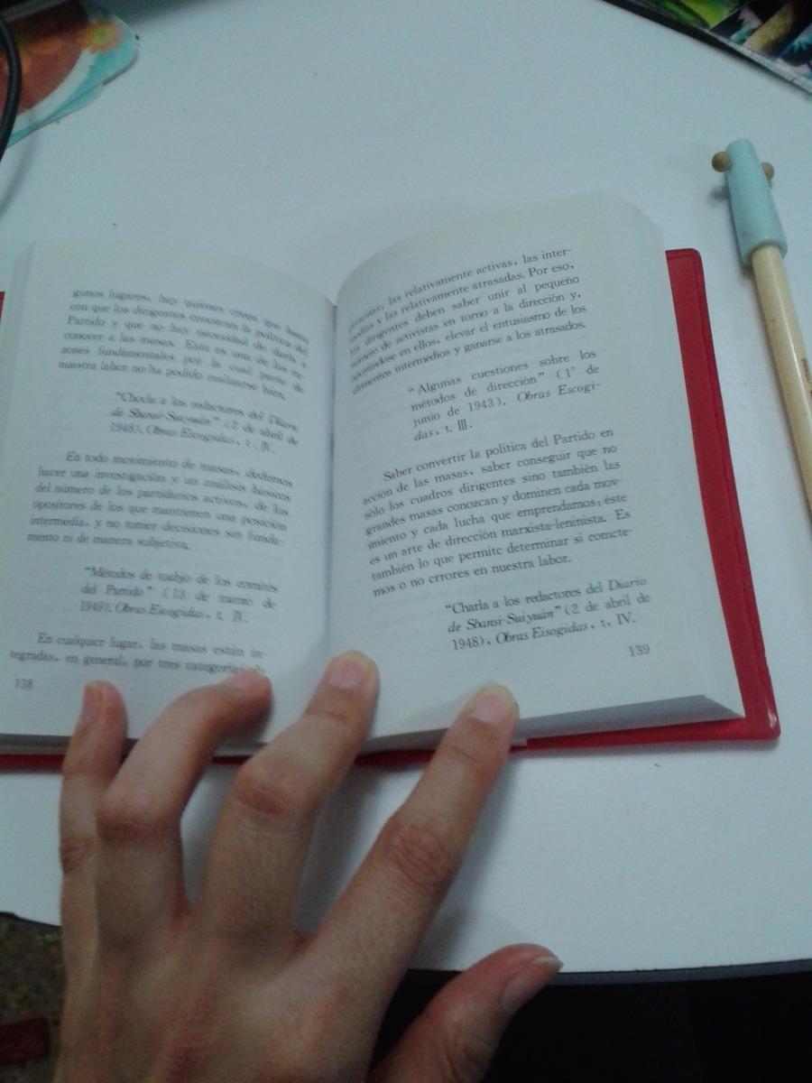 Libro Nuevo Citas Del Presidente Mao Tse Tung Frases