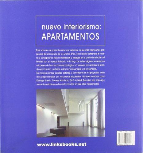 libro nuevo interiorismo: apartamentos - nuevo