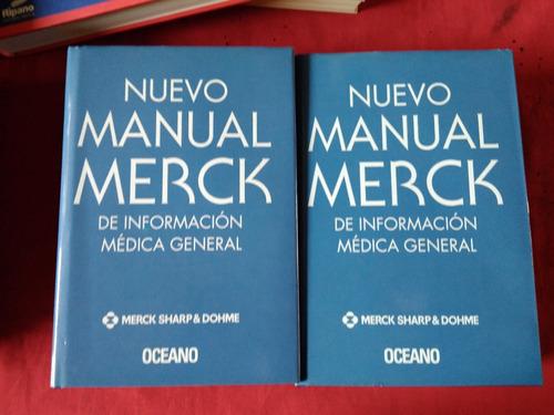libro nuevo manual de merck  2 tomos #30