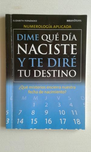 libro numerología aplicada. elizabeth fernández