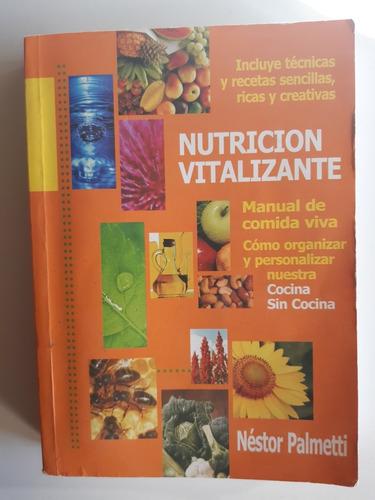 libro nutrición vitalizante . palmetti