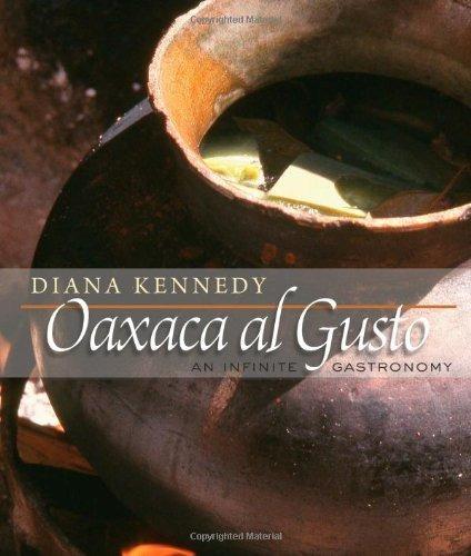 libro oaxaca al gusto: an infinite gastronomy - nuevo