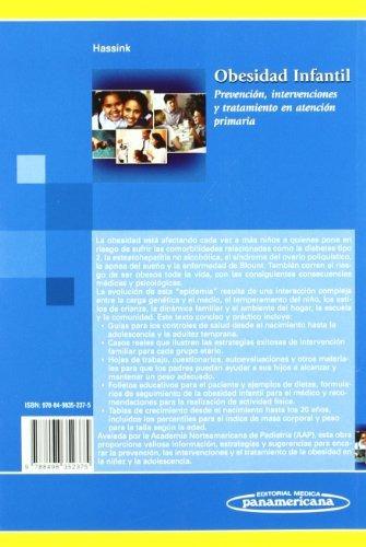 libro obesidad infantil: prevención, intervenciones y tratam