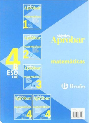 Objetivo aprobar LOE: Matematicas / Objective Approve LOE: Mathematics (Spanish Edition)