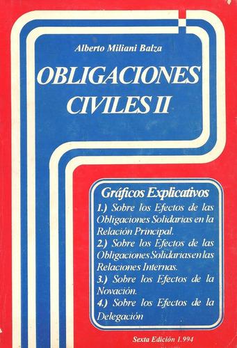 libro obligaciones civiles ii 6ta edición, editorial el guay