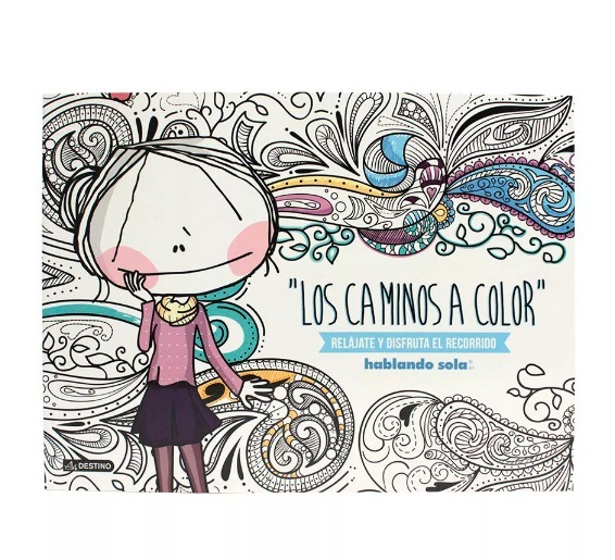 Libro Obra Los Caminos Para Colorear Niño Niñas Reflexibo Pp ...