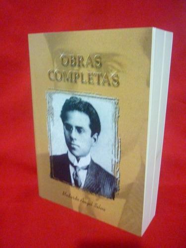 libro obras completas medardo angel silva
