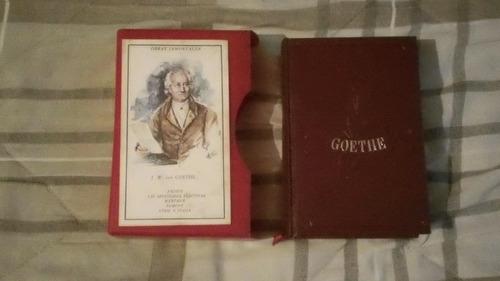 libro obras inmortales e.d.a.f. goethe.