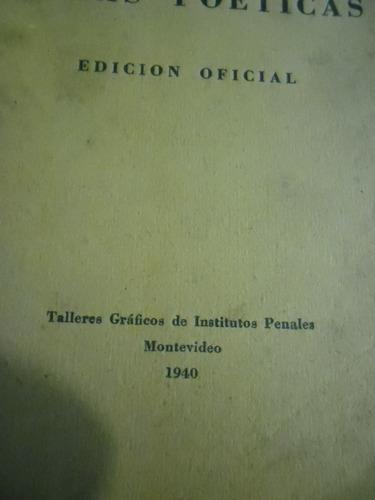 libro obras poeticas edicion oficial delmira agustini