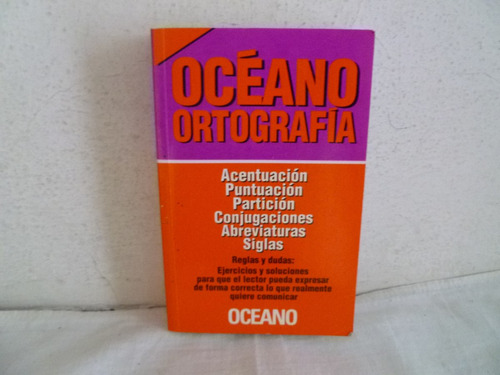 libro oceano ortografico