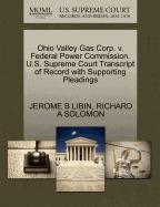 libro ohio valley gas corp. v. federal power, jerome b libin