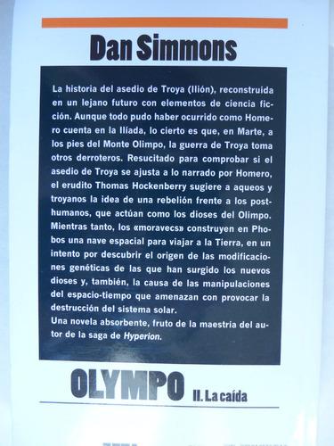 libro olympo ii la caida dan simmons ciencia ficción novela