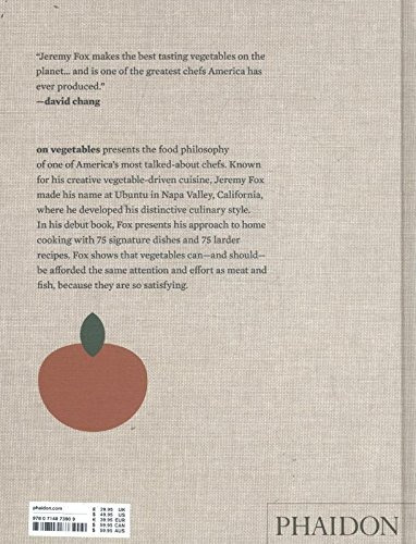 libro on vegetables: modern recipes for the home kitchen