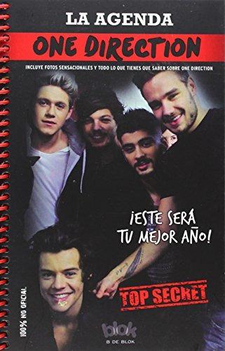 libro one direction. la agenda-ediciones b