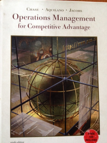 libro operational management for competitive advantage