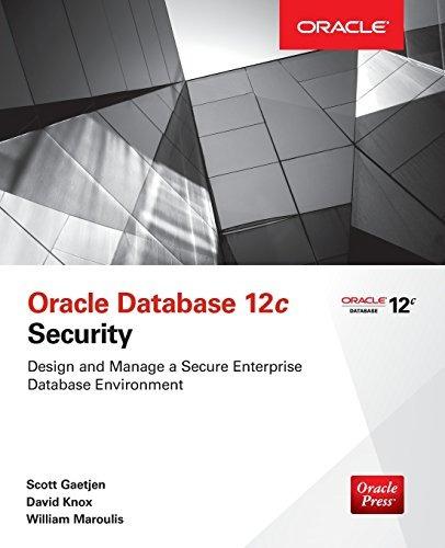 libro oracle database 12c security - nuevo
