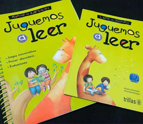 libro original juguemos a leer / libro de lectura+cuaderno
