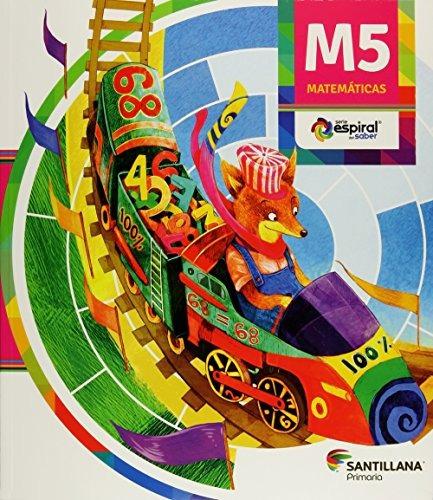 libro pack matemáticas 5 espiral del saber. primaria - nuevo