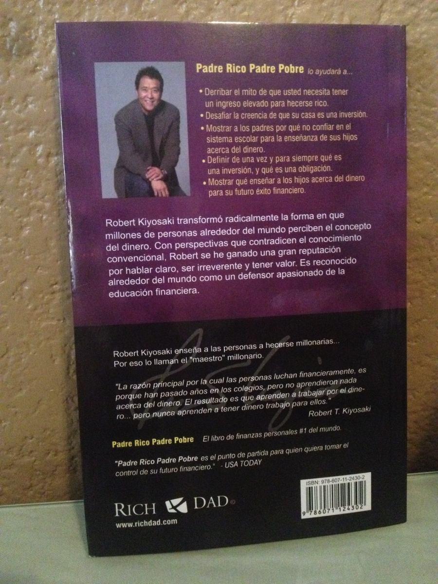 Libro Padre Rico / Padre Pobre - $ 199.00 en Mercado Libre