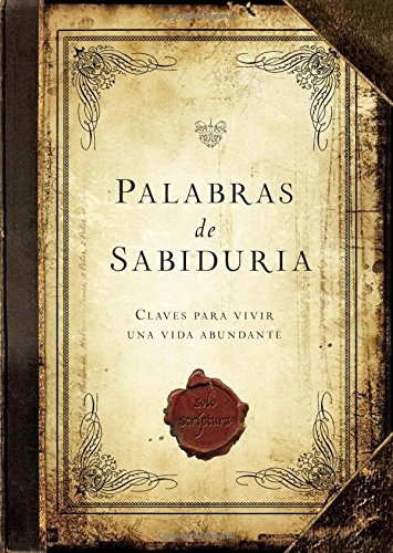 libro palabras de sabiduria / words of wisdon: claves para v