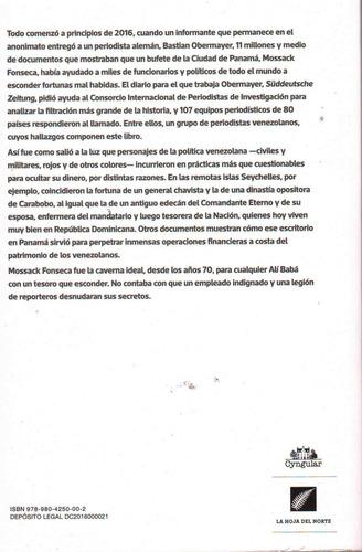 libro panama papers caso venezuela. totalmente nuevo.