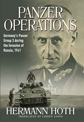 libro panzer operations: germany's panzer group 3 during t