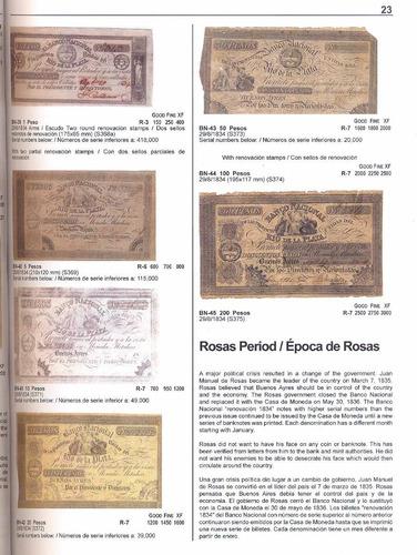 libro papel moneda de argentina 1816-1899 robert bauman new