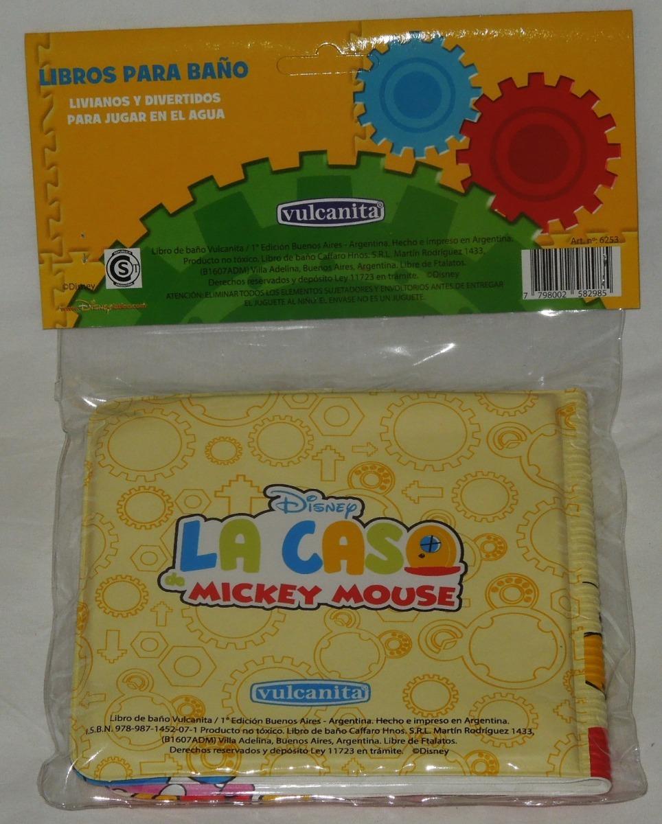 Libro Para Baño Mickey Mouse Los Colores Precio Unico !!!!! - $ 130 ...