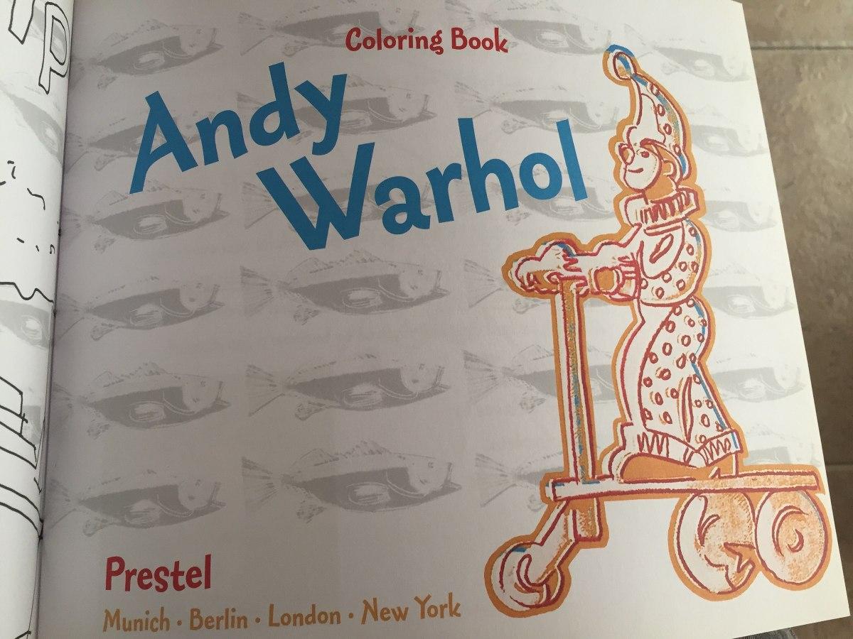 Libro Para Colorear Andy Warhol Pop Art - $ 250,00 en Mercado Libre