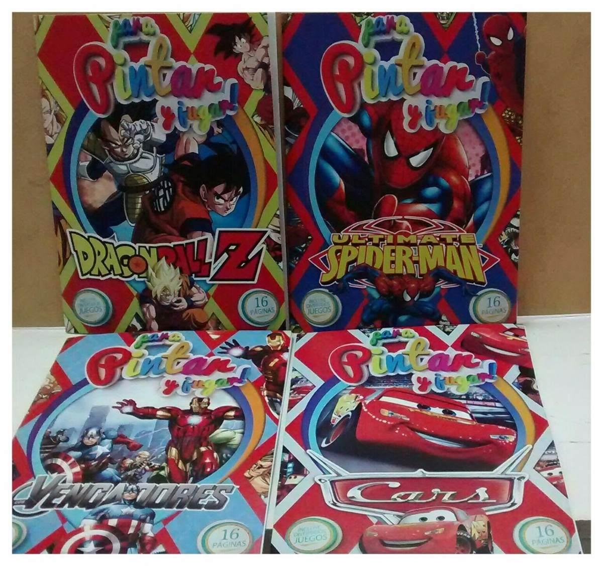 Libro Para Colorear C/juegos Cars - Dragon Ball Goku - $ 39,00 en ...