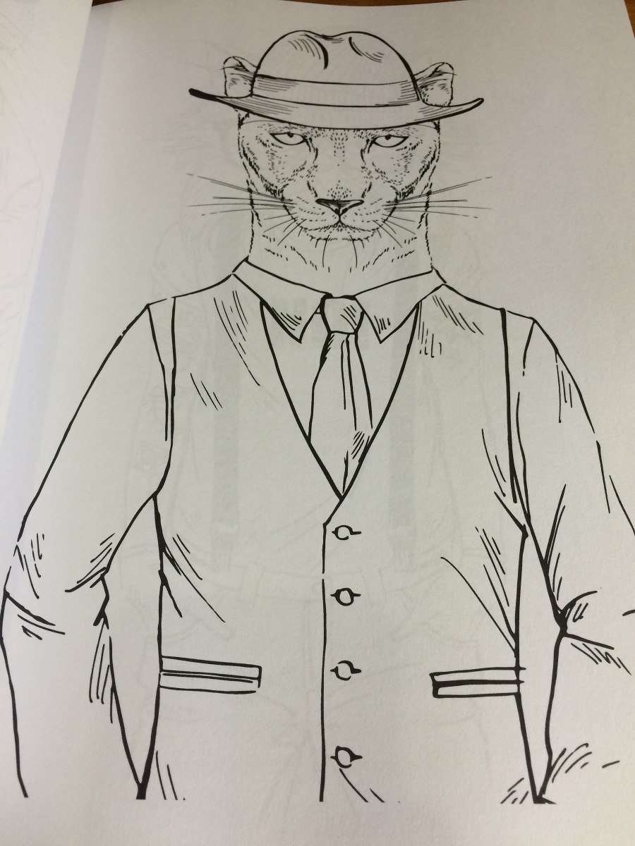 Libro Para Colorear Cool Cats Anti Estrés Gatos Hipster - S/ 50,00 ...